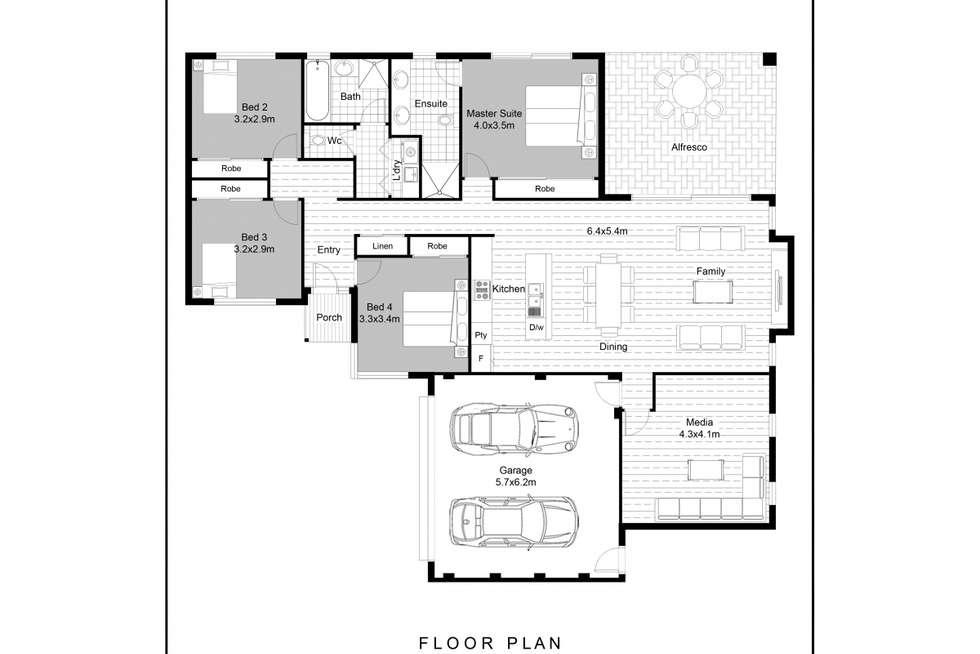 Floorplan of Homely house listing, 13A Third Avenue, Bassendean WA 6054