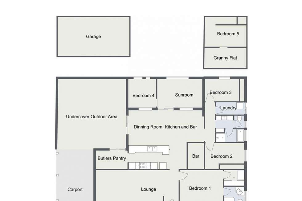 Floorplan of Homely house listing, 23 Endeavour Drive, Seaford Rise SA 5169