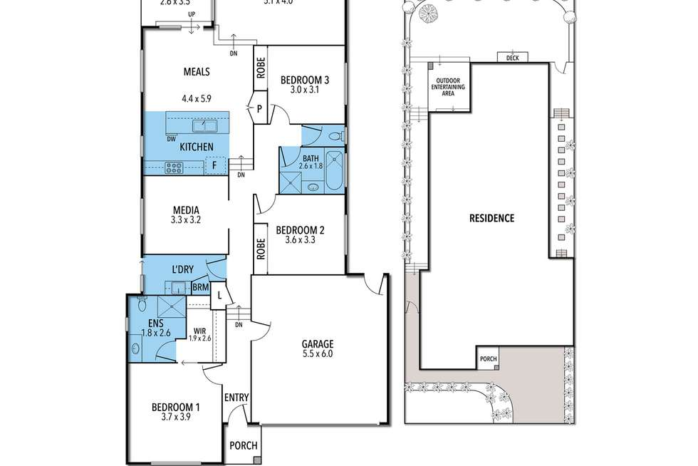 Floorplan of Homely house listing, 7 Park Edge Tce, Portarlington VIC 3223