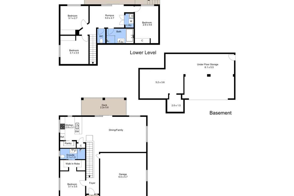 Floorplan of Homely house listing, 1/45 Curzon Road, New Lambton NSW 2305
