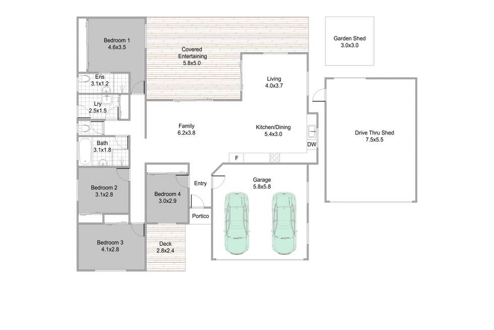 Floorplan of Homely house listing, 83 Webster Road, Deception Bay QLD 4508