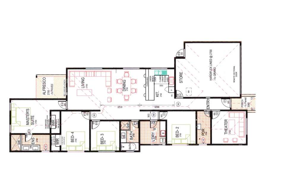 Floorplan of Homely residentialLand listing, 33 Blytheswood Road, Byford WA 6122