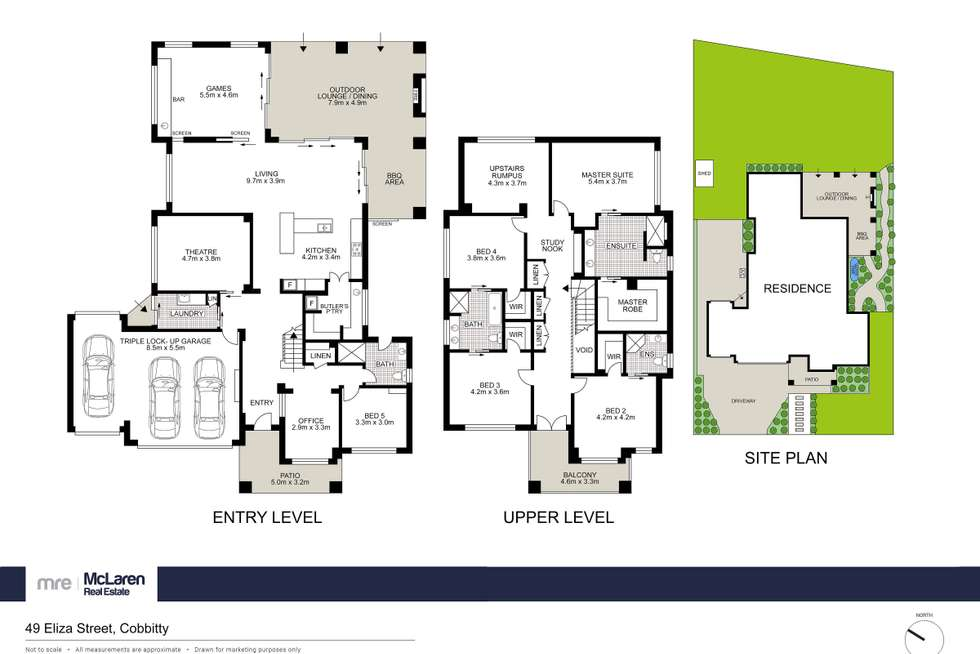 Floorplan of Homely house listing, 49 Eliza Street, Cobbitty NSW 2570