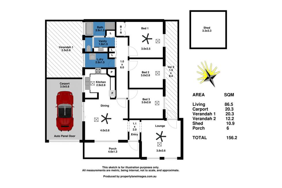 Floorplan of Homely house listing, 19 Queen Mary Street, Mannum SA 5238