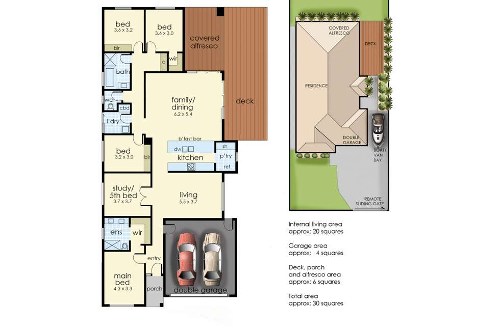 Floorplan of Homely house listing, 21 Ronald Street, Tootgarook VIC 3941