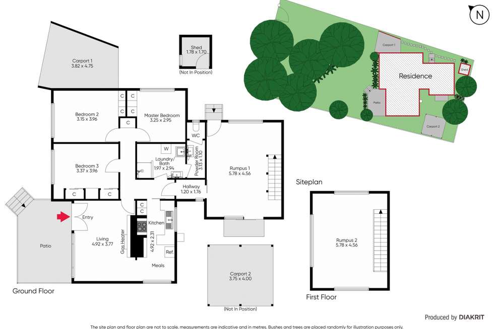 Floorplan of Homely house listing, 17 Verona Street, Dromana VIC 3936