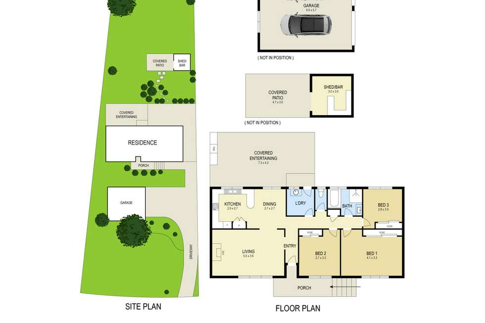 Floorplan of Homely house listing, 47 Secret Corner Road, Rathmines NSW 2283