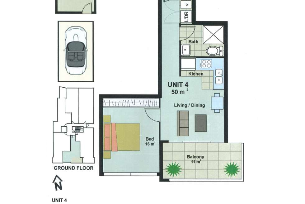 Floorplan of Homely unit listing, 4/75-77 Great Western Highway, Parramatta NSW 2150