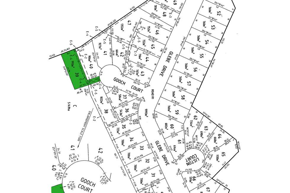 Floorplan of Homely residentialLand listing, LOT 39 Gooch Court, Sale VIC 3850
