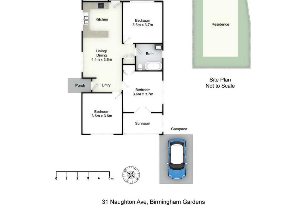 Floorplan of Homely house listing, 31 Naughton Avenue, Birmingham Gardens NSW 2287