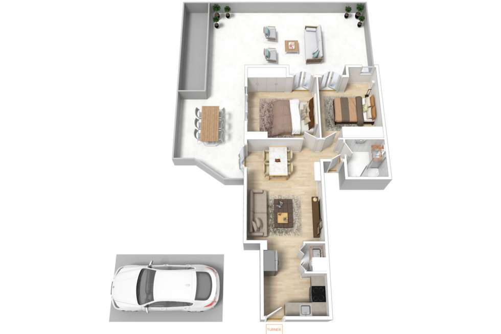 Floorplan of Homely apartment listing, 107/88 Frome Street, Adelaide SA 5000