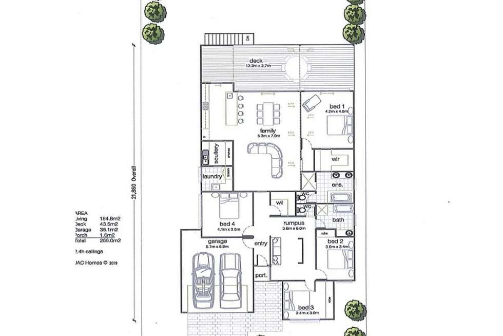 Floorplan of Homely house listing, Lot 310 Rosella Rise, Mannum SA 5238