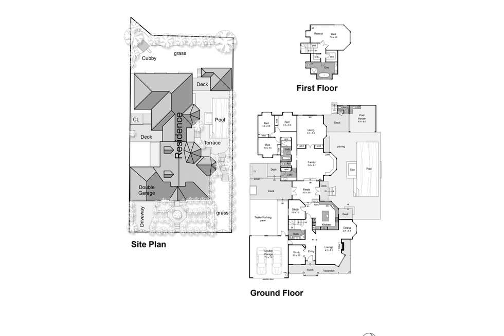 Floorplan of Homely house listing, 51 Legacy Drive, Mount Martha VIC 3934