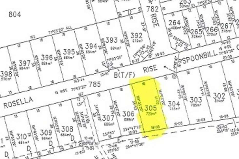 Floorplan of Homely residentialLand listing, 40 Rosella Rise, Mannum SA 5238