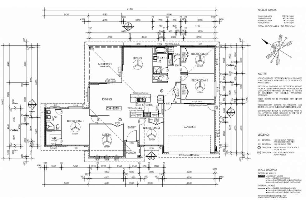Floorplan of Homely house listing, 5 Harpulia Court, Kalkie QLD 4670