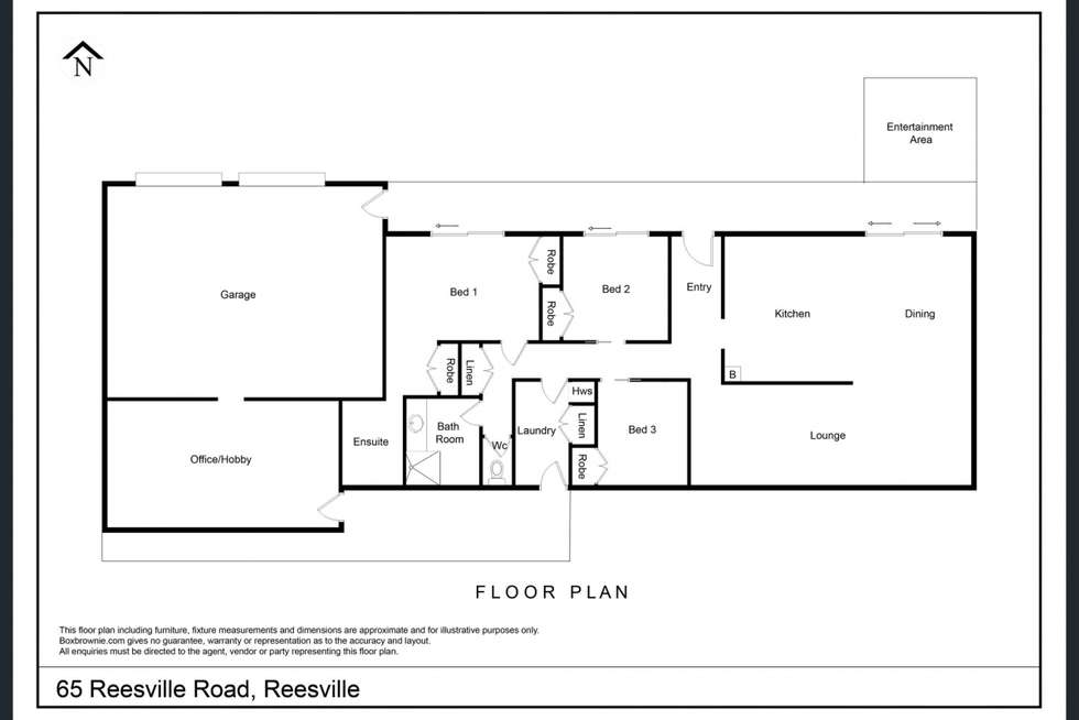 Floorplan of Homely house listing, 65 Reesville Road, Reesville QLD 4552