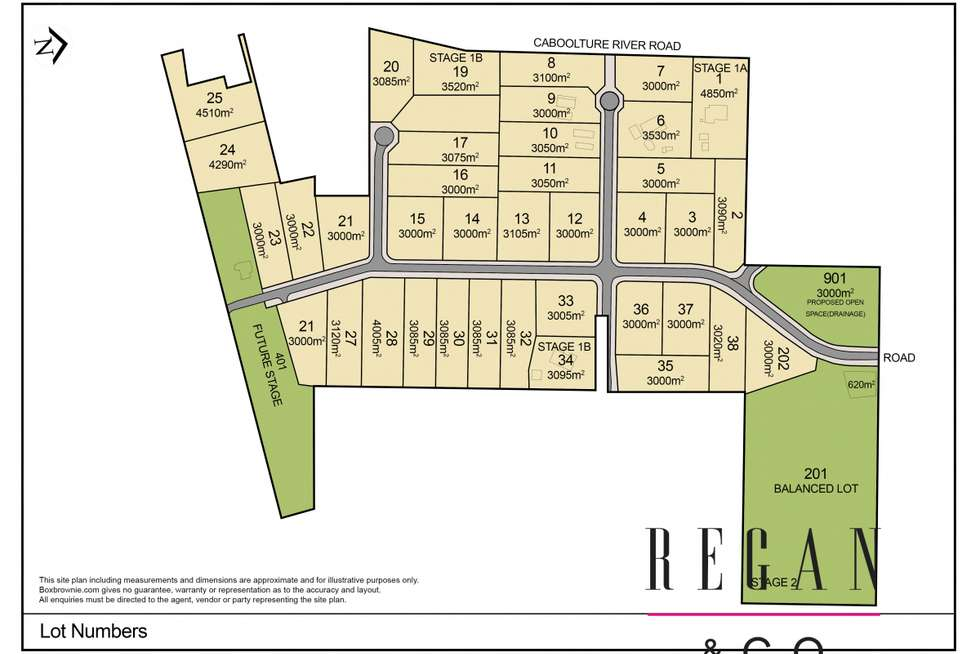 Floorplan of Homely residentialLand listing, 662-726 Caboolture River Road, Upper Caboolture QLD 4510