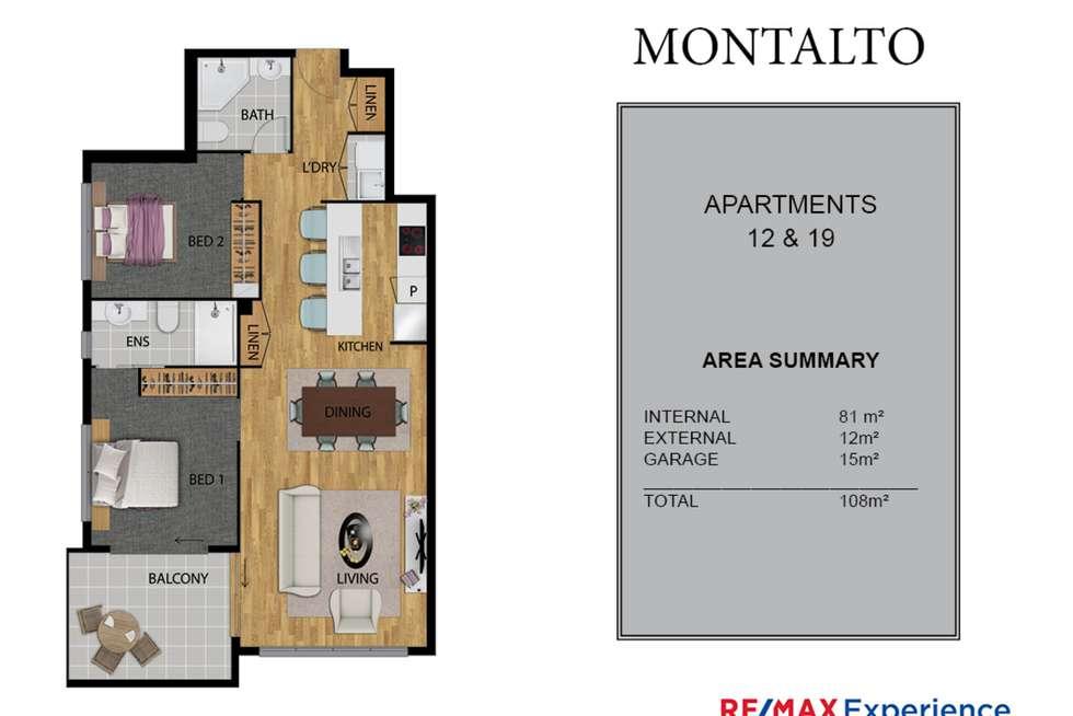 Floorplan of Homely unit listing, 19/19 Jones Road, Carina Heights QLD 4152