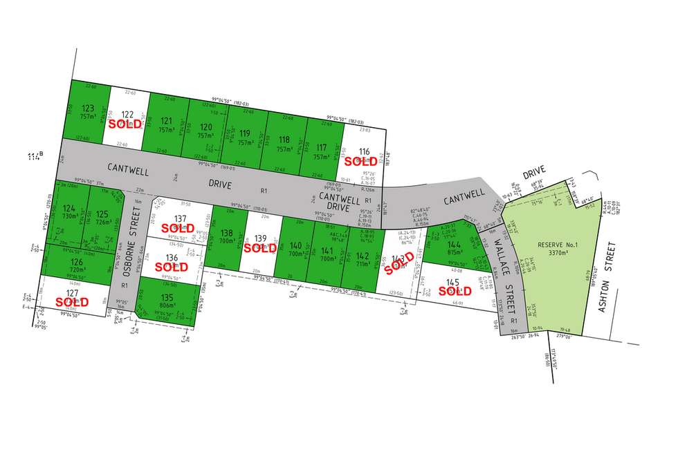 Floorplan of Homely residentialLand listing, LOT 117 Cantwell Drive, Sale VIC 3850