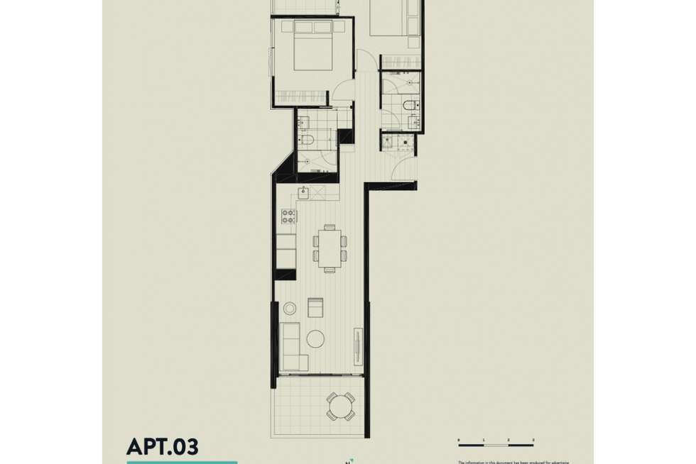 Floorplan of Homely apartment listing, 109 Alfred Street, Fortitude Valley QLD 4006
