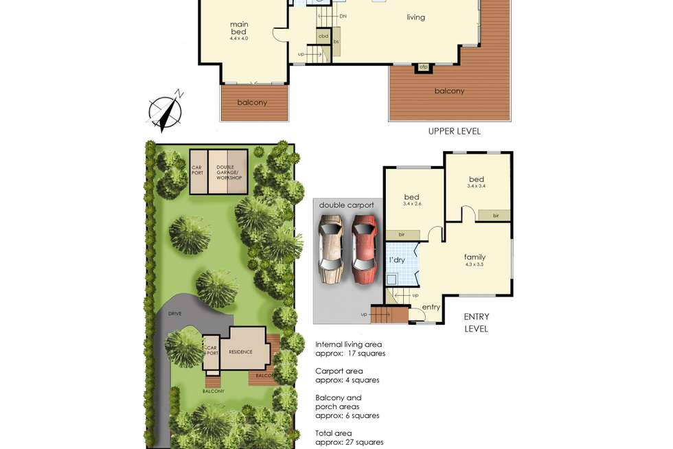 Floorplan of Homely house listing, 36 Maryrose Street, Blairgowrie VIC 3942