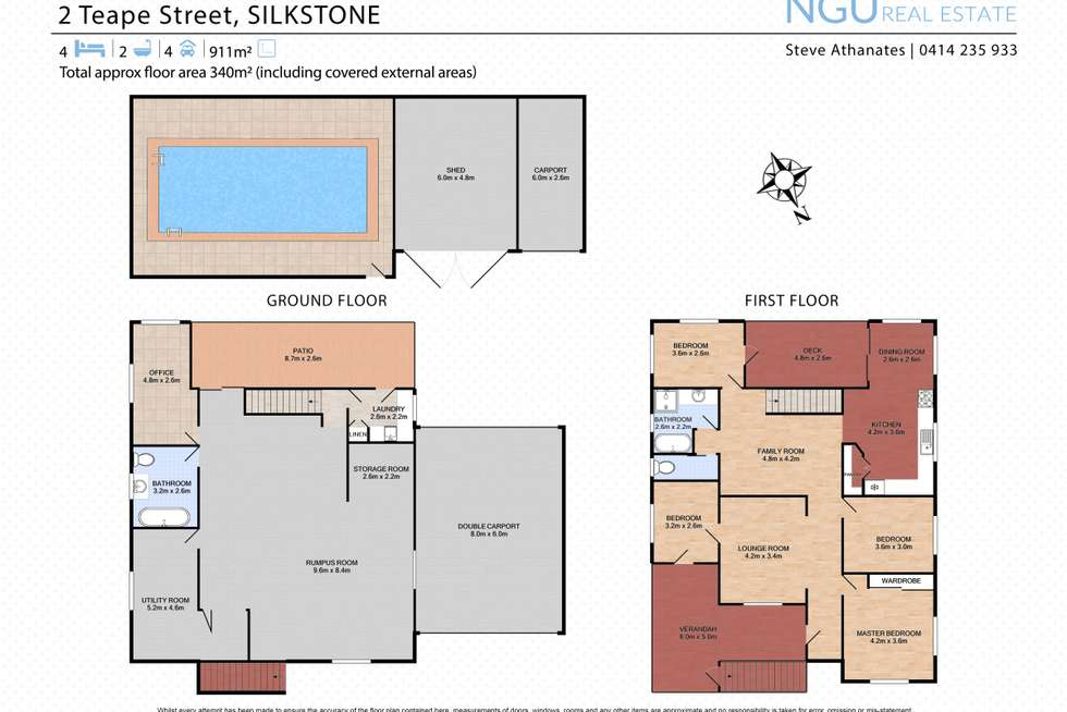 Floorplan of Homely house listing, 2 Teape Street, Silkstone QLD 4304
