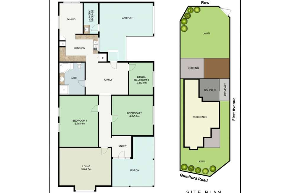 Floorplan of Homely house listing, 79 Guildford Road, Mount Lawley WA 6050