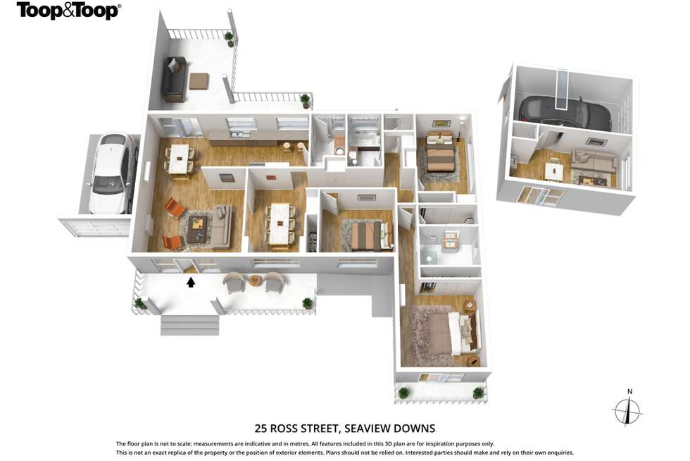 Floorplan of Homely house listing, 25 Ross Street, Seaview Downs SA 5049