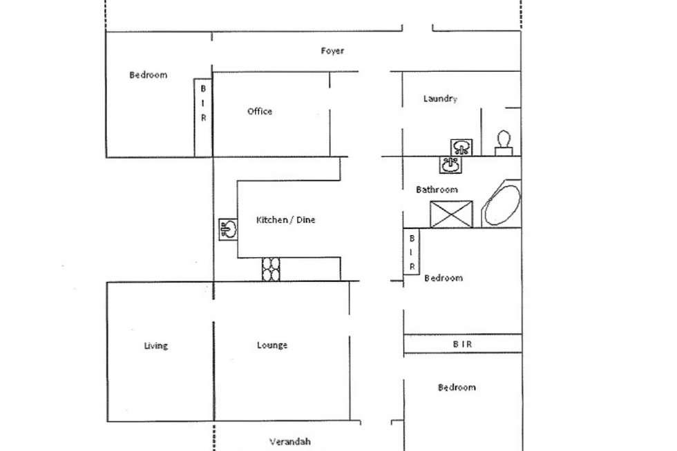 Floorplan of Homely house listing, 52 Sickerdick Street, Mannum SA 5238