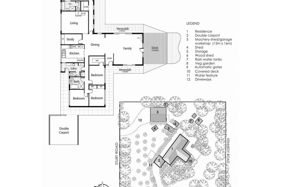 Floorplan of Homely house listing, 113 Sandy Point Road, Somers VIC 3927