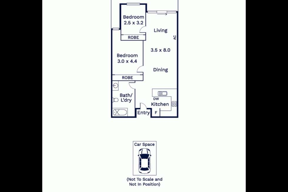 Floorplan of Homely apartment listing, 612/250 Barkly Street, Footscray VIC 3011