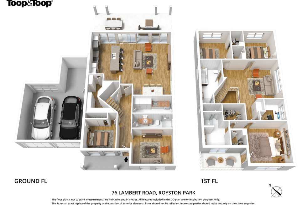 Floorplan of Homely house listing, 76 Lambert Road, Royston Park SA 5070