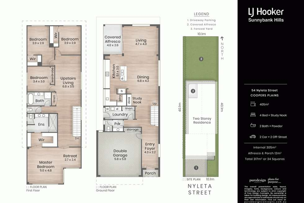 Floorplan of Homely house listing, 54 Nyleta Street, Coopers Plains QLD 4108