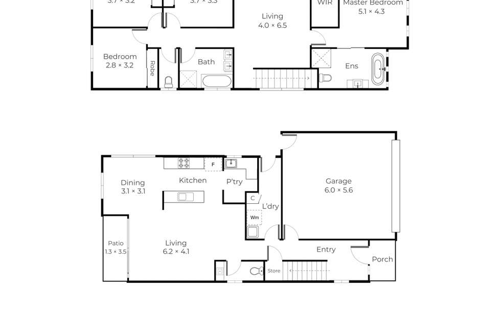 Floorplan of Homely house listing, 163 Gallipoli Road, Carina Heights QLD 4152