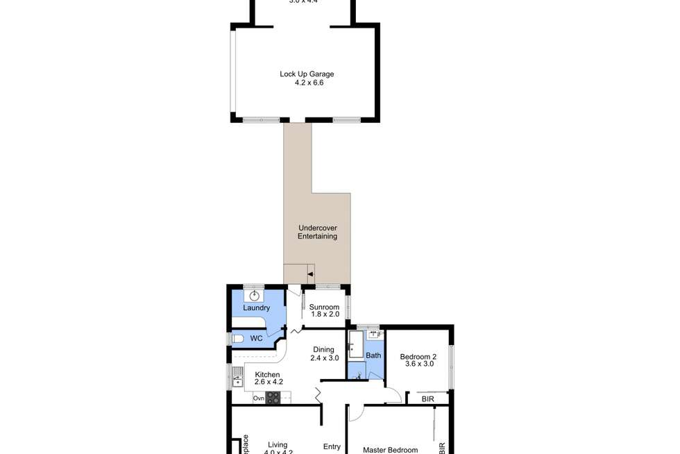 Floorplan of Homely house listing, 1 Carnley Avenue, New Lambton NSW 2305