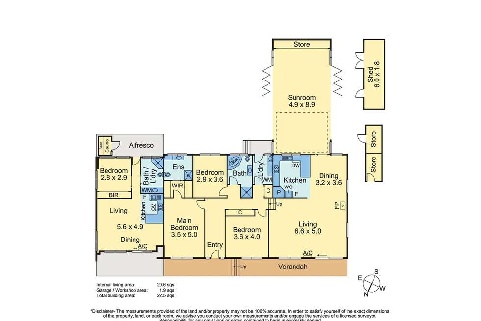 Floorplan of Homely house listing, 16 Brian Court, Mount Eliza VIC 3930
