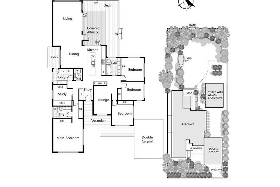Floorplan of Homely house listing, 26 Bonview Avenue, Somers VIC 3927