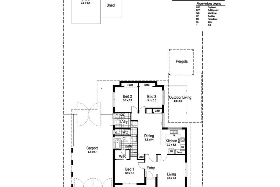 Floorplan of Homely house listing, 29 Crawford Street, Ashmont NSW 2650
