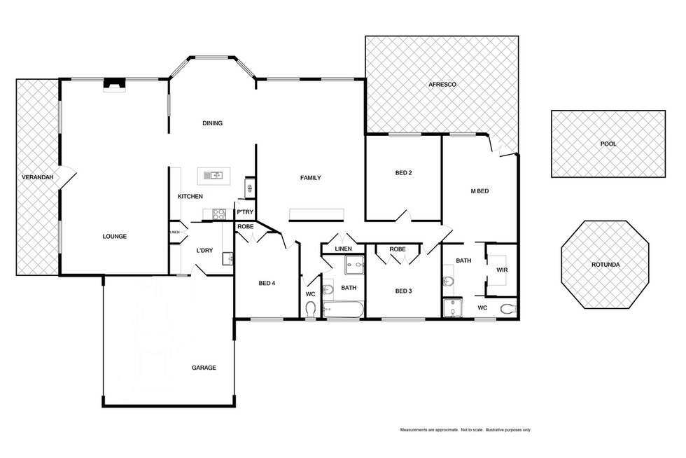 Floorplan of Homely house listing, 50 Hunter Street, Mansfield VIC 3722