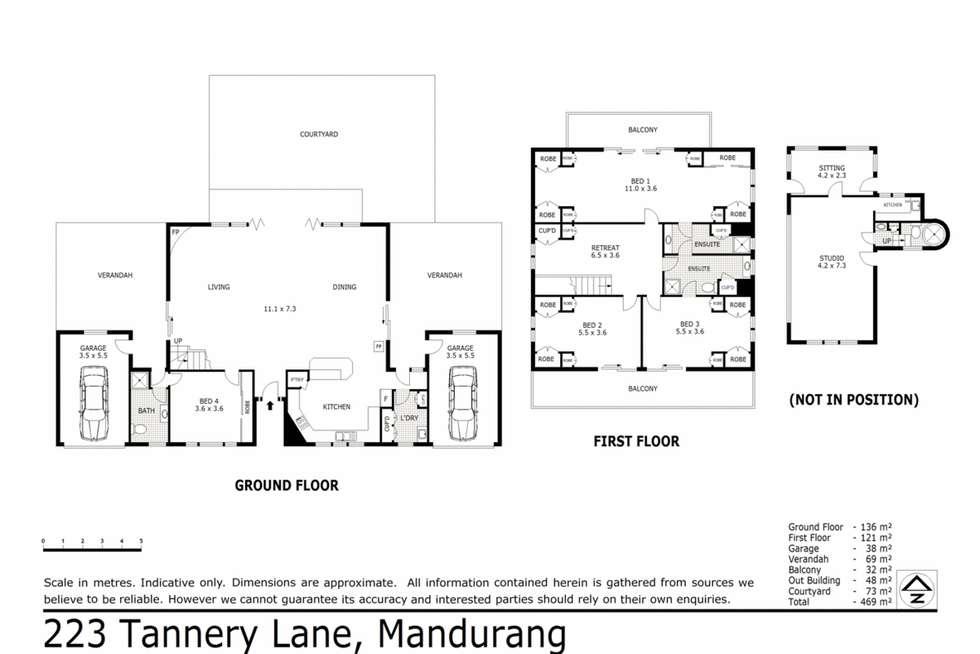 Floorplan of Homely house listing, 223 Tannery Lane, Mandurang VIC 3551
