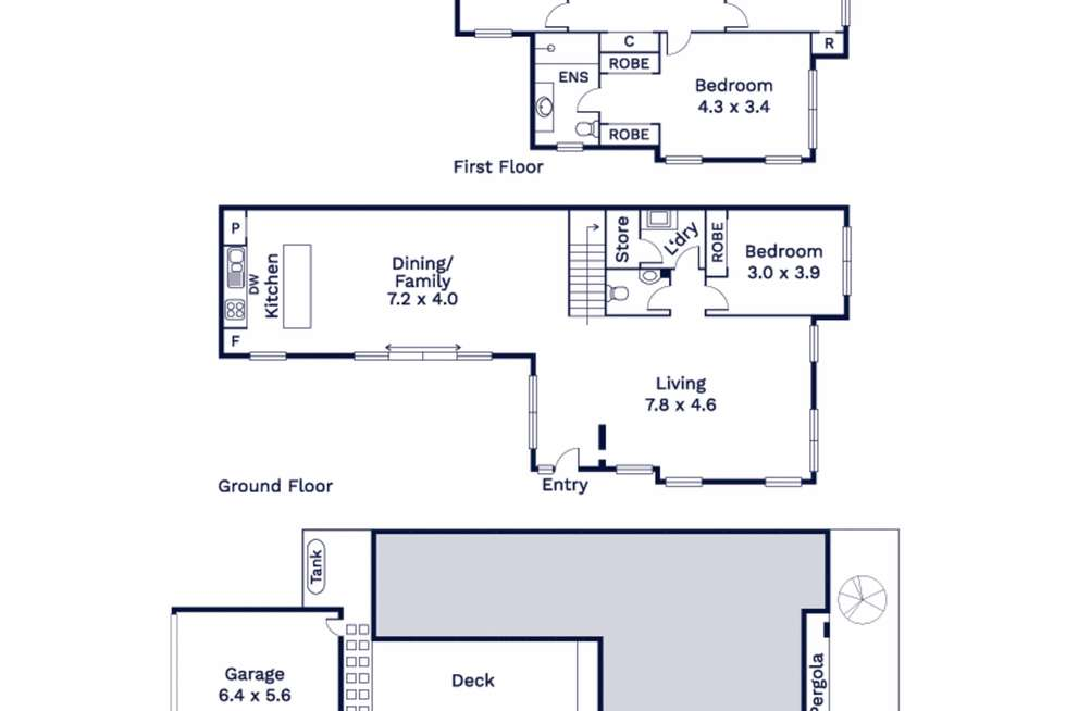 Floorplan of Homely house listing, 61 Ringtail Circuit, Maidstone VIC 3012
