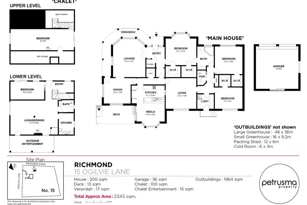 Floorplan of Homely house listing, 15 Ogilvie Lane, Richmond TAS 7025