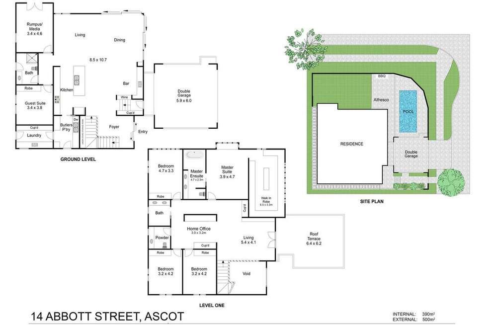Floorplan of Homely house listing, 14 Abbott Street, Ascot QLD 4007
