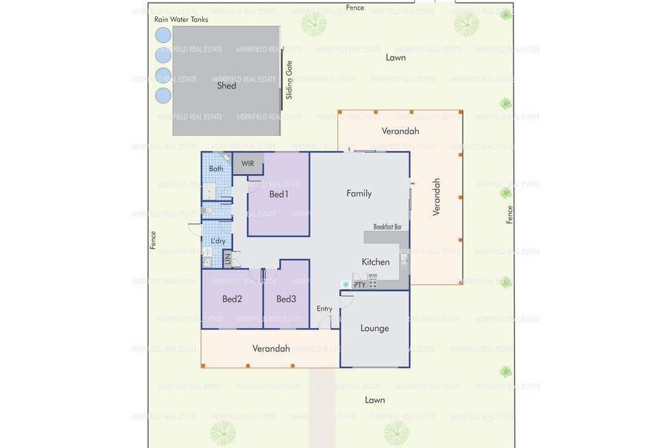 Floorplan of Homely house listing, 14 Price Street, Denmark WA 6333
