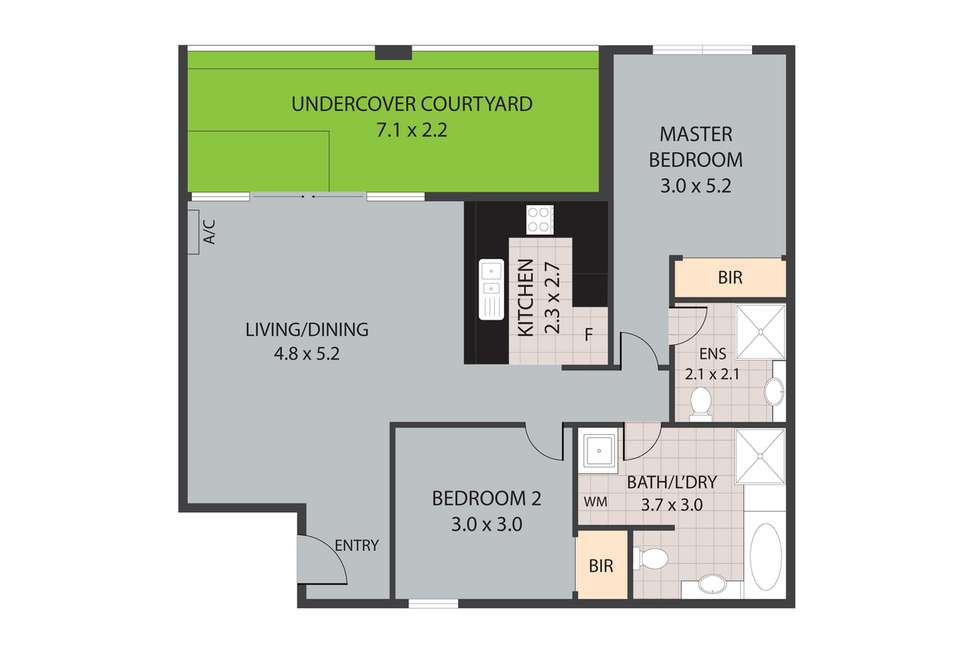 Floorplan of Homely apartment listing, 10/10 Pavonia Link, Clarkson WA 6030