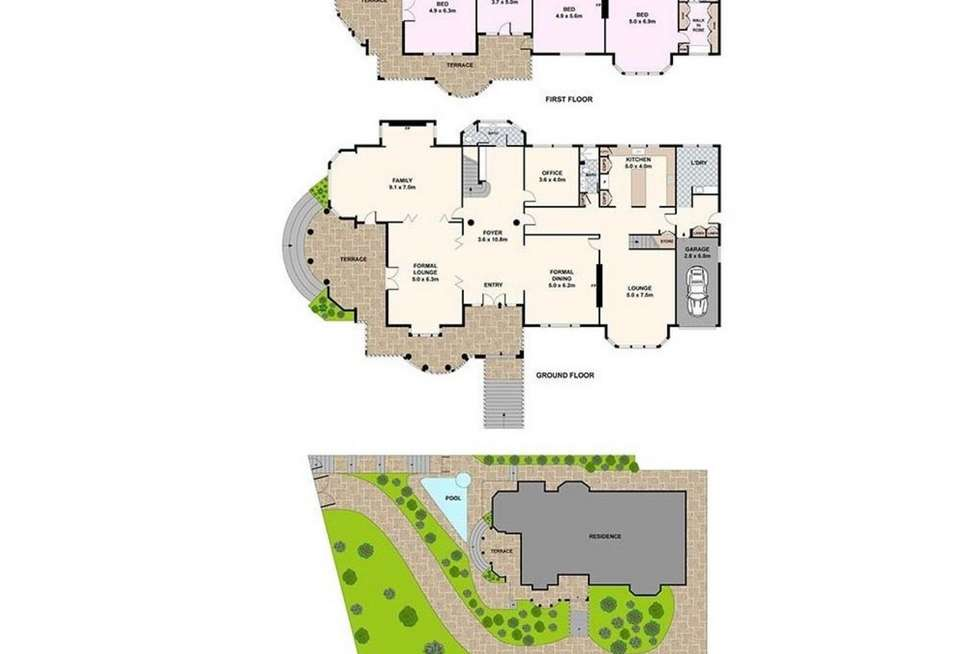 Floorplan of Homely house listing, 17-19 Cranbrook Road, Bellevue Hill NSW 2023