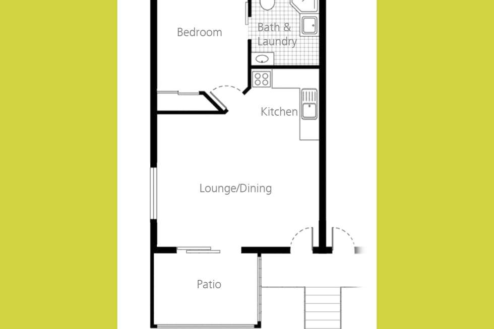 Floorplan of Homely unit listing, 7/217 Spence Street, Bungalow QLD 4870
