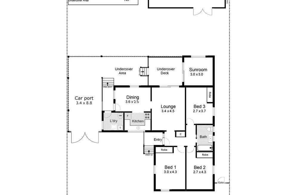 Floorplan of Homely house listing, 46 Callaghan Street, Ashmont NSW 2650