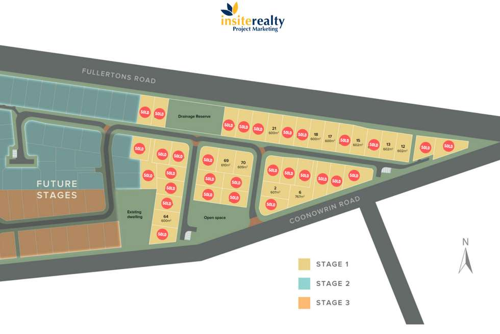 Floorplan of Homely residentialLand listing, LOT 64/10 Dunnottar Court, Glass House Mountains QLD 4518