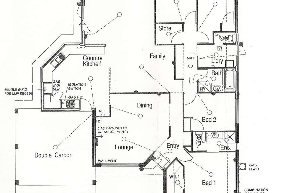 Floorplan of Homely house listing, 8 Shenandoah Mews, Currambine WA 6028